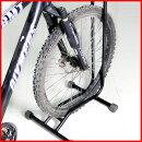20〜29インチ自転車スタンド1台用自転車置き場駐輪スタンドラック駐輪場前輪後輪転倒防止自転車立てロードクロスマウンテンバイクサイクルガレージ収納屋内屋外