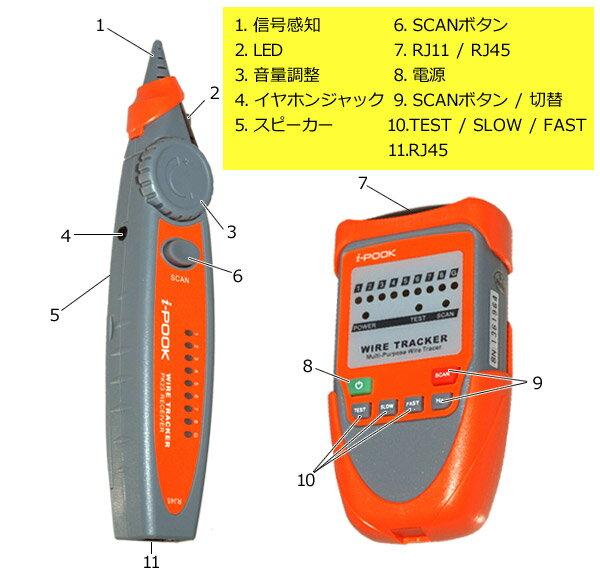 【楽天市場】トーンプローブ 電線探索機 [ PK65A ] 信号伝送距離 ...