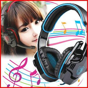 迫力の重低音とクリアな音楽を楽しもう♪調節ができるヘッドパットで長時間の使用も快適【着後...