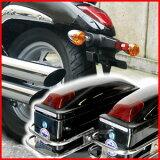 送料無料 バイク用 ハード サイドバッグ 2個セット バイク モーター サイクル オートバイ 2輪 二輪 外装 車体廻り タンク ツーリング キャンプ サドルバッグ サイドボックス ボックス ケース バイクボックス