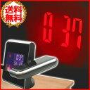 プロジェクター クロック 目覚まし時計 多機能目覚まし時計 投影 温度 日付 天気 多機能 目ざまし 目覚まし 時計 置き時計 バックライト スヌーズ アラーム 機能 ms