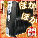 13枚フィン高性能オイルヒータータイマー付VS-3413ブラック12畳向け3段階電力切替電気ヒーター自動停止機能暖房器具ベルソスVERSOSデロンギと同様に大人気□□ss