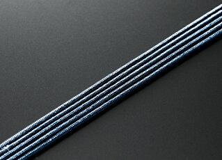 【10%割引クーポン配布中】数珠紐ひも修理用ヒモ正絹数珠組紐鉄紺色5m(細いタイプ)全宗派対応