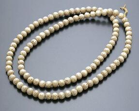星月菩提樹6ミリ108玉腕輪用数珠(念珠)主玉のみ