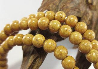 数珠ブレスレット腕輪念珠108玉天竺菩提樹共仕立手首数珠桐箱入