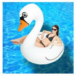 《新》【送料無料】うきわ浮き輪ウキワフロート白鳥スワン鳥動物夏海プールビーチ大人子供大人用大きい複数水遊び遊具おもちゃ【10】[95][Z][B]【SHOTショット】『z』[170428]