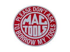 【メール便80円での配送が可能です】MAC TOOLS / マックツールズのステッカー(2)