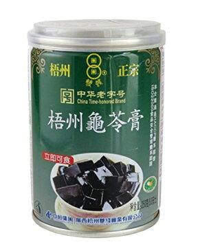 横浜中華街 梧州正宗 亀ゼリー(亀苓膏) 250g(缶)X 12缶(箱売り)、中国では、美と健康づくりに、デザートとして、よく食べます♪