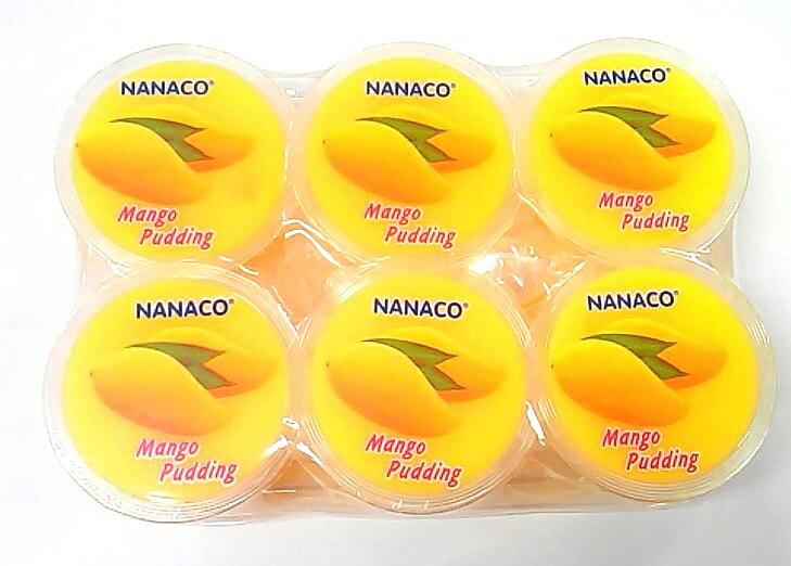 中華菓子, マンゴープリン NANACO 480g(80gX6Mango Pudding