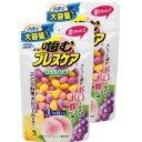 【送料無料】 噛むブレスケア アソート パウチタイプ お得な大容量 100粒(2袋)