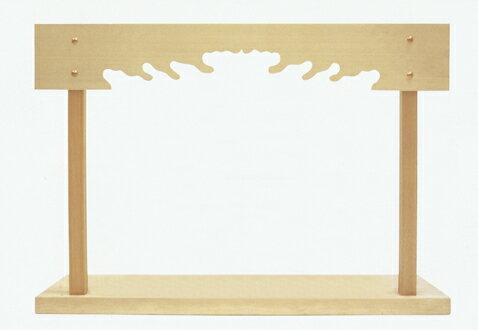 [神棚 棚板]神棚板セット3尺6寸5分 総木曽ひのき・無垢 サンダー仕上げ  日本製 国産【送料無料】