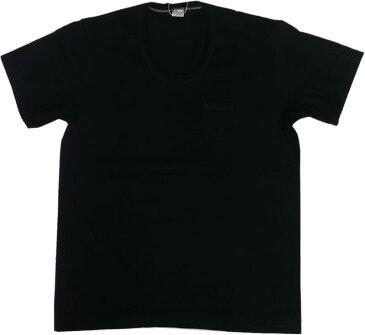 エントリーエスジー ロサリオ ダイヤモンドブラック 半袖 ポケット付き Uネック Tシャツ ENTRY SG ROSARIO DIAMOND BLACK 170