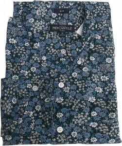ジェイクルー 長袖 ボタンダウンシャツ 花柄 ブルー メンズ J.CREW BD SHIRTS 052