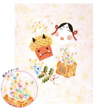 \新春SALE/ ビーズデコール パート15 日本の12か月シリーズ 節分(如月・2月) BHD-85|キット ビーズキット 簡単 季節物 イベント 節分 トーカイ