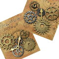 ビーズメタルパーツスチームパンクパーツコレクション歯車【メール便可】|レジン|はぐるま|ハグルマ|時計|とけい|トケイ|針|ギア|部品|チャーム|