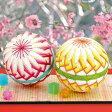 クラフト 和調手芸 5番ししゅう糸でつくる手まりキット 満開の桃