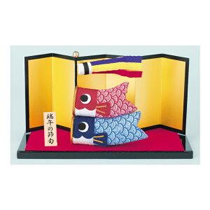 クラフト 和調手芸 五節供のお飾りもの ちりめん細工 なかよしこいのぼり