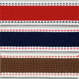 生地 テープ Cotton Memory ステッチテープ 25mm巾 1.5m|かばん|カバン|鞄|持ち手|かばんテープ|カバンテープ|鞄テープ|持ち手テープ|2.5cm|ステッチ| トーカイ