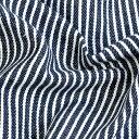 \春SALE/生地 先染めヒッコリー2 デニム調 16A   1m単位の切売り 布 綿 コットン ワンピース スカート 服地 男の子 入園 布地 手芸 バッグ 手作り 幼稚園 レッスンバッグ おすすめ 入園グッズ 入学 トーカイ