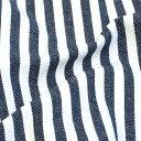 \春SALE/生地 先染めストライプ2 デニム調 17A   1m単位の切売り 布 綿 コットン ワンピース スカート 服地 男の子 入園 布地 手芸 バッグ 手作り 幼稚園 レッスンバッグ おすすめ 入園グッズ 入学 トーカイ