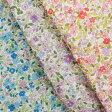 生地 キルト プチフルール 撥水加工 ナイロンオックスキルト KSG142 |1m単位の切売り|トーカイ|生地|花柄|キルティング|花|ナイロン|フラワー|撥水|女の子|入園|入学|布|