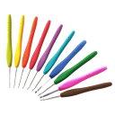 クロバー|アミュレ|かぎ針|編み物用品|毛糸|通販|手が疲れにくく持ちやすい立体的なカーブ...