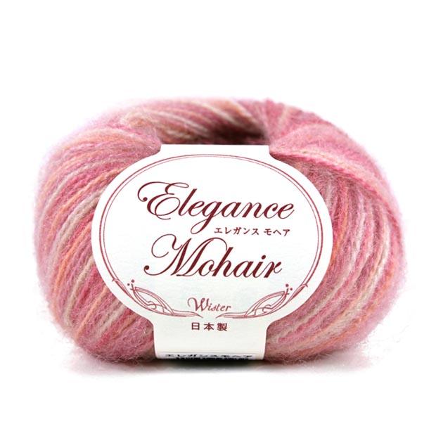 ウイスター エレガンスモヘア 毛糸 編み物 トーカイ