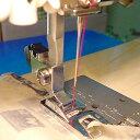 ミシン ジャノメ用 三巻押え 4mm 家庭用 【メール便可】|ミシン押え金|アタッチメント|ミシン|押え|