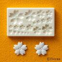 ねんど 粘土用具 樹脂粘土用ミニ型抜き お花の型 G−020 ぷっくり桜 【ネコポス可】|53…