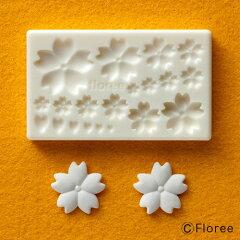 ぷっくり桜|桜 型|粘土型|樹脂粘土|サクラ 花|花型|さくら|卒業|ネイル|パーツ|貼り...