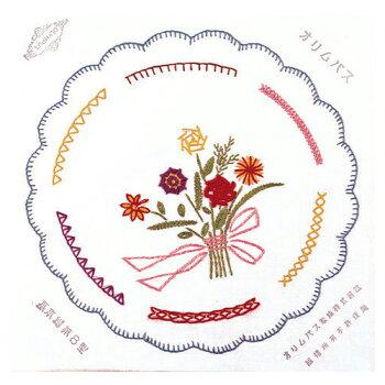 刺繍刺しゅうキットオリムパスフランス刺しゅう基本ステッチキット基本縫8型