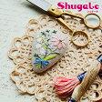刺繍 キット piece Rairaiさんのノスタルジックフラワー ブローチ Daisy bouquet 【メール便可】