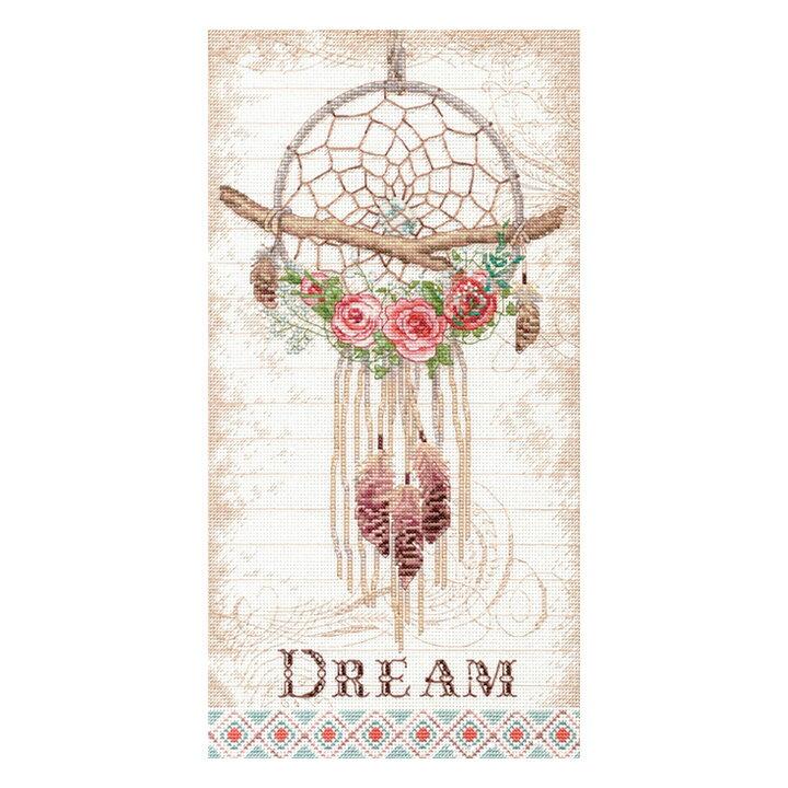 刺繍道具, 刺繍キット  Dimensions Floral Dreamcatcher 70-35375 1