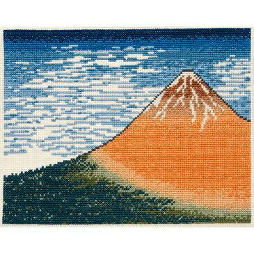 刺繍 刺しゅうキット オリムパス 日本名所絵百選シリーズ 凱風快晴