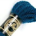 刺しゅう糸 DMC 4番 パープル・ブルー系 タペストリーウール 7034 【メール便可】|ししゅう糸 刺繍糸 ディー・エム・シー DMCの糸 ウール糸 タペストリー糸 ニードルポイント
