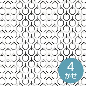 \新春SALE/ 刺し子布 印刷済み布パック 一目刺しの花ふきん りんご(白) 晒木綿 刺し子布 図案印刷済み 