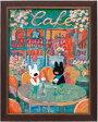 【PCエントリーでP10倍2/1(9:59)まで】【送料無料】 パリのお散歩(クロスステッチ)春のカフェ NO_8531 (ネコポス不可・ゆうパケット不可)