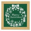 オリムパス olympus キット クロスステッチ クリスマス リース グリーンクリスマス クロスステ...