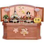 雛人形三段飾り五人飾り収納セット