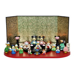 【雛人形 ひな人形】【お雛さま】【キャラクター おひなさま】ディズニー 雛人形十五人飾り アイ…