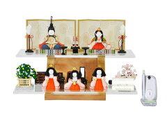 【雛人形 ひな人形 お雛様 おひなさま】新作 秀光 限定品【送料無料】コンパクト ミニ【雛人形…