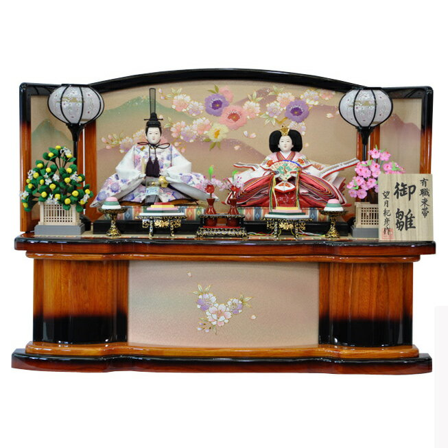 雛人形, 親王飾り  2019 2 P84009