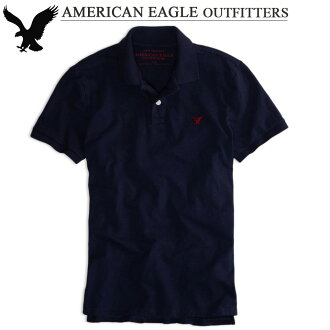 Rakuten champions sale, victory Memorial セールアメリカンイーグル men's short sleeve polo shirts AE STRIPED JERSEY POLO 3 color (1513-7355) (S/M/L/XL)