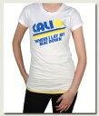 Local Celebrityローカルセレブリティ レディースTシャツ Cali T-shirt ホワイト