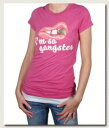 Local Celebrityローカルセレブリティ レディースTシャツ So Gangster T-shirt ピンク