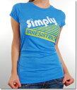 Local Celebrityローカルセレブリティ レディースTシャツ Simply Irresistible T-shirt ロイヤルブルー
