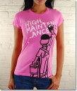 Local Celebrityローカルセレブリティ レディースTシャツ High Maintenance T-shirt ピンク