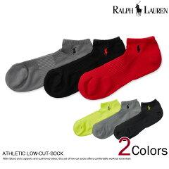 ■ポロ・ラルフローレンメンズソックス靴下AthleticLow-Cut-Sock3色セット2種(105244206)スーパーSALE開催!!最大ポイント16倍!あす楽10800円以上送料無料!メンズかっこいいギフトにも!大きいサイズあり!