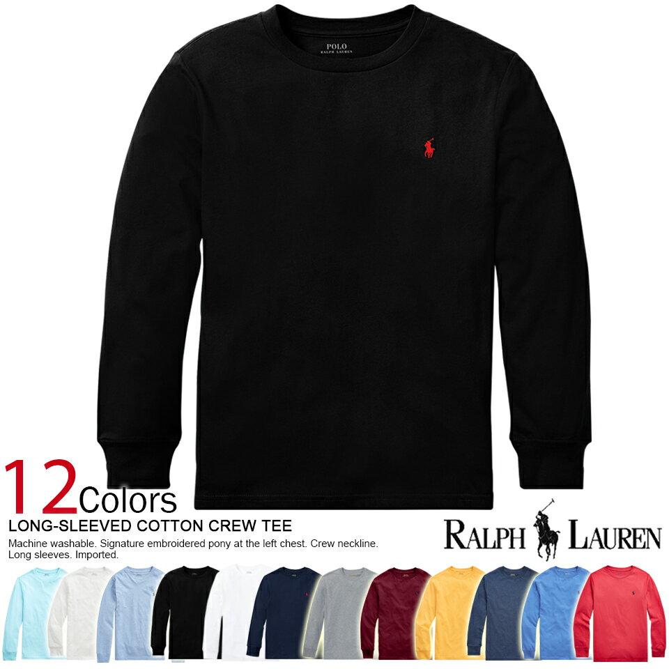 トップス, Tシャツ・カットソー 2! T LONG SLEEVED COTTON CREW TEE 6 POLO RALPH LAUREN(65353176) 3980 ! ! ! ! !