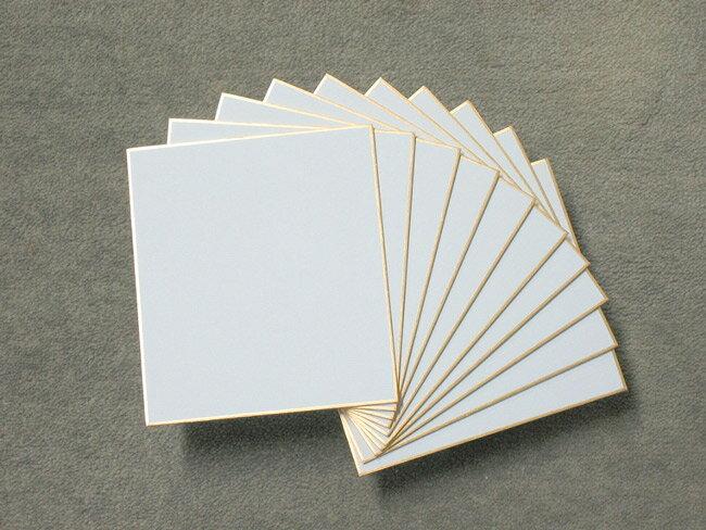 色紙 1/4サイズ 寸松庵色紙 和画仙 並/10枚